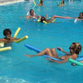 Stay Fit with Aquagym on Your Naturist Holiday