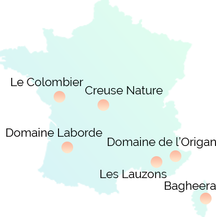 Campings naturistes en France